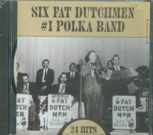 Six Fat Ducthmen, #1 Polka Band CD Cover