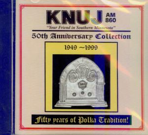 KNUJ's 50th Anniversary Collection CD Cover